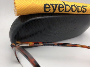 *SALE* New Readers EYE•BOBS Eyeglasses UNAPOLOGETIC 2333 30 40-24 Tortoise Half-Rim Frame