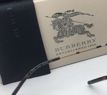 Load image into Gallery viewer, New BURBERRY Eyeglasses B 1273 1012 54-19 135 Brown & Plaid Classic Oval Frames