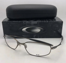 Load image into Gallery viewer, New Metal OAKLEY Eyeglasses WHISKER 6B OX3107-0255 55-18 132 Matte Pewter Frames