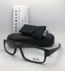 New OAKLEY Eyeglasses AIRDROP OX8046-0157 XL Large 57-18 143 Satin Black Frames