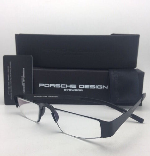 New Readers! PORSCHE DESIGN Eyeglasses P'8811 A 48-21 Matte Black Titanium Reader Frames