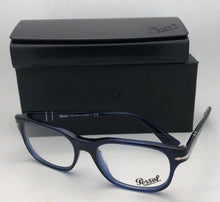 Load image into Gallery viewer, New PERSOL Rx-able Eyeglasses Typewriter Edition 3095-V 181 55-18 145 Blue Frame