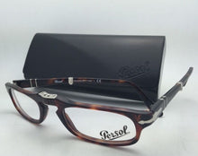 Load image into Gallery viewer, Folding PERSOL Rx-able Eyeglasses 2886-V 24 51-22 Havana Tortoise Frames