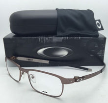 Load image into Gallery viewer, New OAKLEY Eyeglasses TINCUP OX3184-0350 50-17 Powder Toast Brown Frames