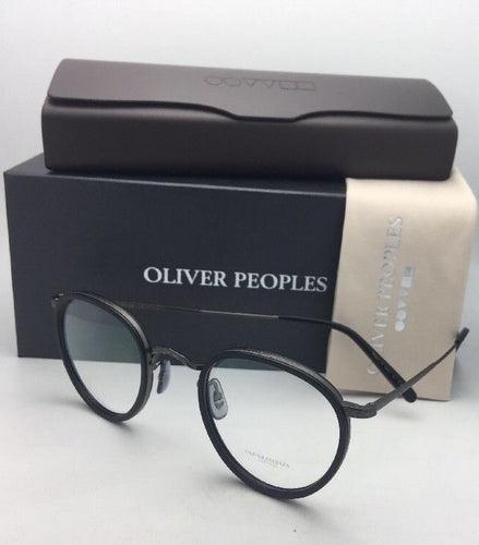 New OLIVER PEOPLES Eyeglasses MP-2 OV 1104 5244 46-24 Matte Black Gunmetal Frame