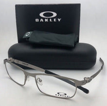 Load image into Gallery viewer, New OAKLEY Eyeglasses TINCUP OX3184-0452 52-17 135 Powder Steel Frames