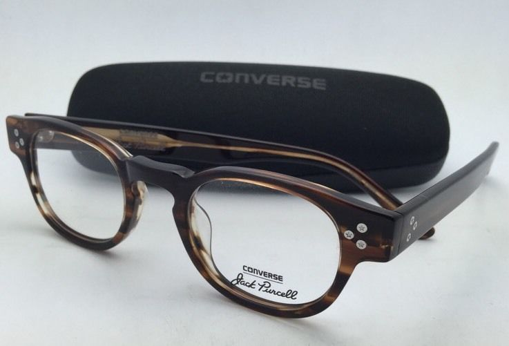 *SALE* New CONVERSE Eyeglasses P002 UF 46-22 150 Brown Horn Frame