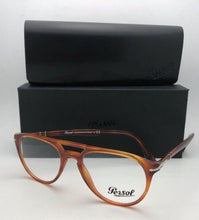 Load image into Gallery viewer, New PERSOL Rx-able Eyeglasses 3160-V 9041 50-18 145 Tierra Di Sienna Frames