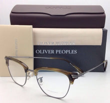 Load image into Gallery viewer, New OLIVER PEOPLES Eyeglasses BANKS OV 1145 5076 49-20 Tortoise & Pewter Frames