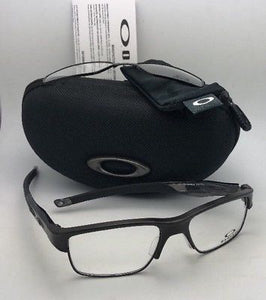 OAKLEY Eyeglasses CROSSLINK SWITCH OX3128-0255 55-18 Pewter w/ changeable Fronts