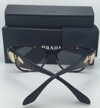 Load image into Gallery viewer, New PRADA Eyeglasses VPR 07R 2AU-1O1 53-18 Havana Tortoise Cat-Eye Frame w/ Stones