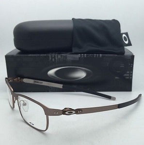 New OAKLEY Eyeglasses TINCUP OX3184-0350 50-17 Powder Toast Brown Frames