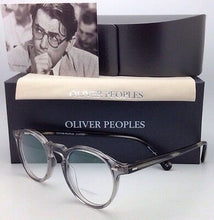Load image into Gallery viewer, New OLIVER PEOPLES Eyeglasses GREGORY PECK OV 5186 1484 47-23 Round Workman Grey Frame