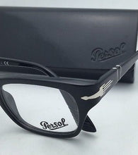 "Load image into Gallery viewer, ""Film Noir Edition"" PERSOL Rx-able Eyeglasses 3070-V 95 52-20 145 Black Frames"