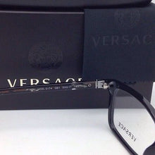 Load image into Gallery viewer, New VERSACE Eyeglasses VE 3174 GB1 53-17 Black Frame w/ Multi-Color Temples