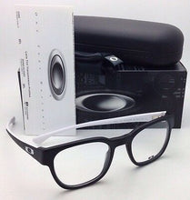 Load image into Gallery viewer, New OAKLEY Eyeglasses CLOVERLEAF OX 1078-0849 49-20 Satin Black & White Frame