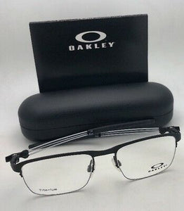 OAKLEY Titanium Eyeglasses TRUSS ROD 0.5 OX5123-0152 52-18 143 Semi Rimless Coal