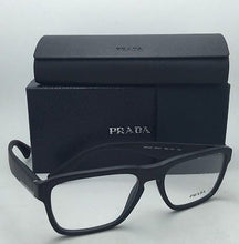 Load image into Gallery viewer, New PRADA Eyeglasses VPR 04S 1BO-1O1 53-17 145 Matte Black Frames