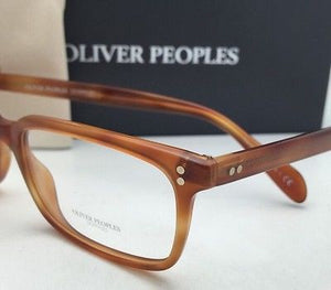 New OLIVER PEOPLES Eyeglasses DENISON OV 5102 1237 51-17 Carretto Tortoise Frame