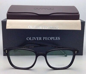 New OLIVER PEOPLES Eyeglasses MASLON OV 5279U 1465 51-18 Semi Matte Black Frames