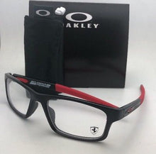 Load image into Gallery viewer, Scuderia Ferrari OAKLEY Eyeglasses CROSSLINK OX8037-1552 52-18 Black & Red Frame