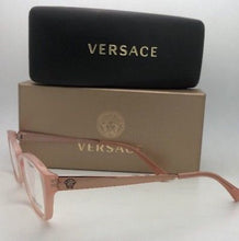 Load image into Gallery viewer, New VERSACE Eyeglasses MOD.3236 5218 52-16 140 Opal Pink Cat Eye Frames