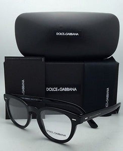 New DOLCE & GABBANA Rx-able Eyeglasses DG 3225 501 48-20 Black Frame