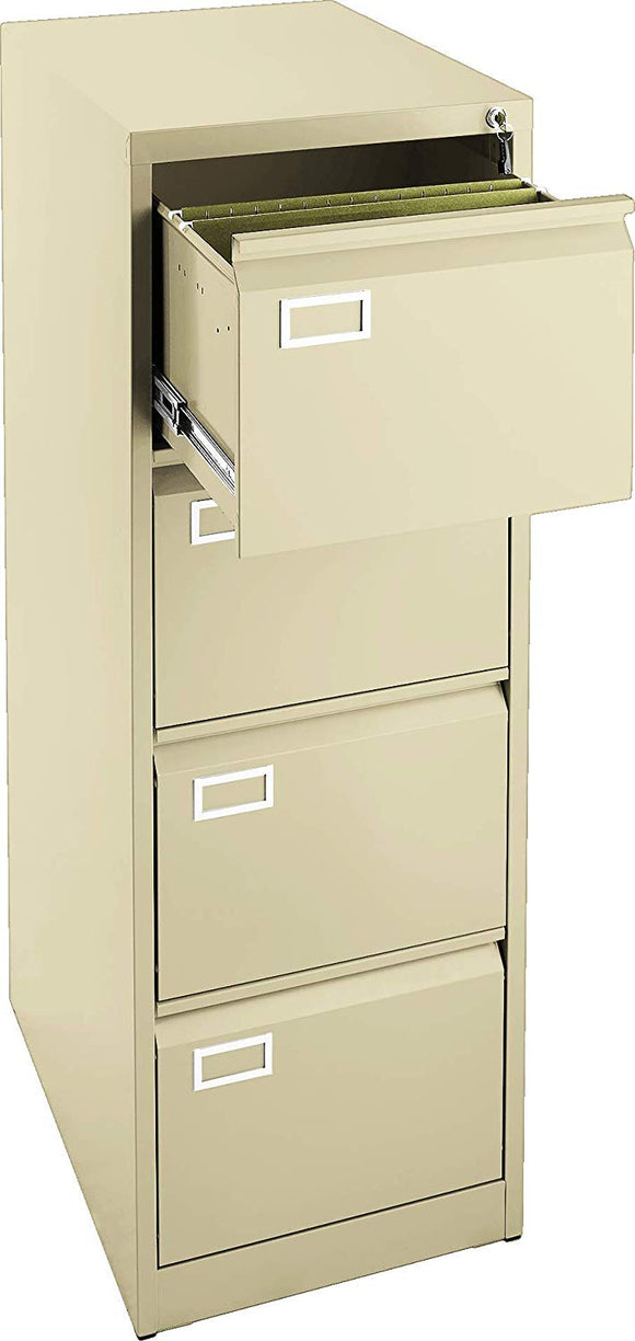 4 Drawer File Cabinet - Beige
