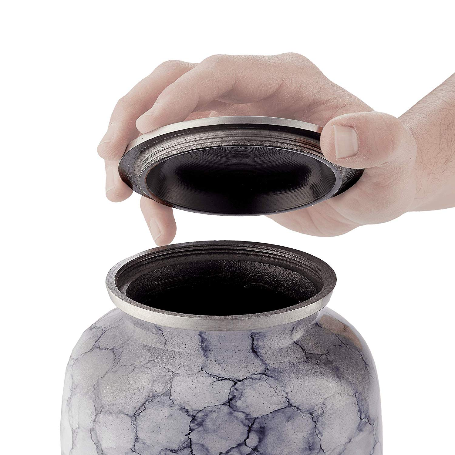 Cremation Urn for Ashes, for Adults up to 200lbs, Grey
