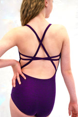 """Go To"" Leotard - Plum"