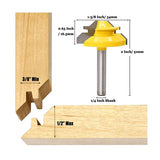 1/4-Inch Shank 45-Degree Lock Miter Router Bit