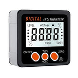 LCD Screen Inclinometer Magnetic Electronic