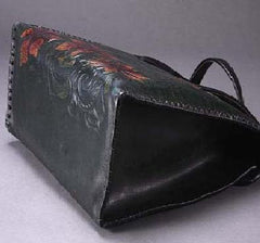 SOLD OUT: Vintage hand-crafted leather purse. Made by Japanese craftmanship