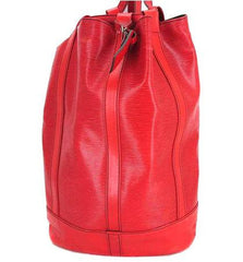 SOLD OUT: 80s vintage Louis Vuitton epi randonee GM purse, red. red epi hobo unisex for all generations