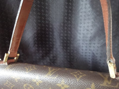 SOLD OUT: Vintage Louis Vuitton monogram handbag classic purse with gold tone hardware closure.
