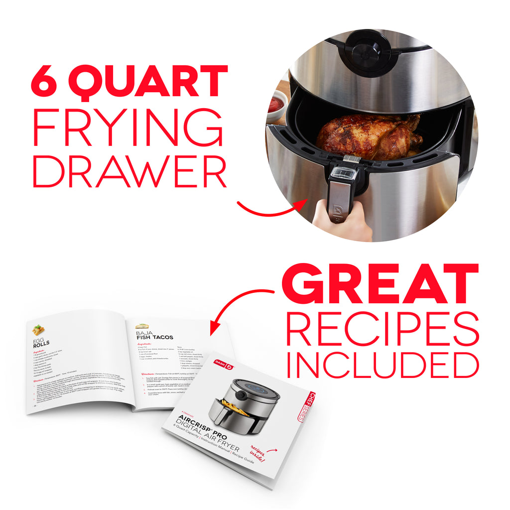 6Qt Family Air Fryer