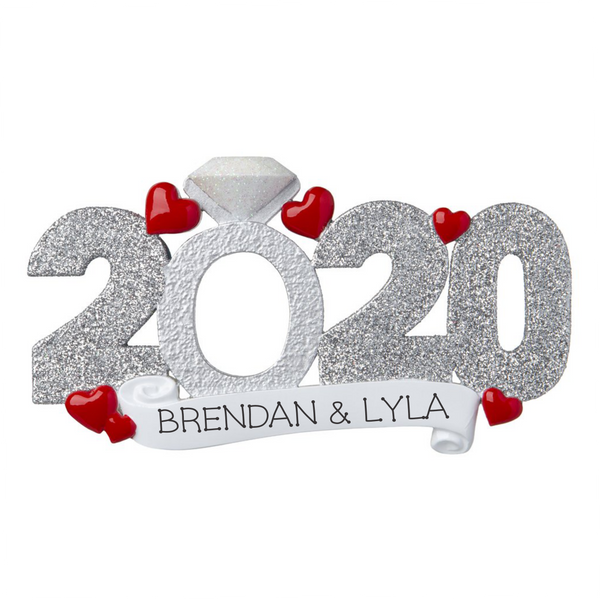 2020 Engagement Ornament