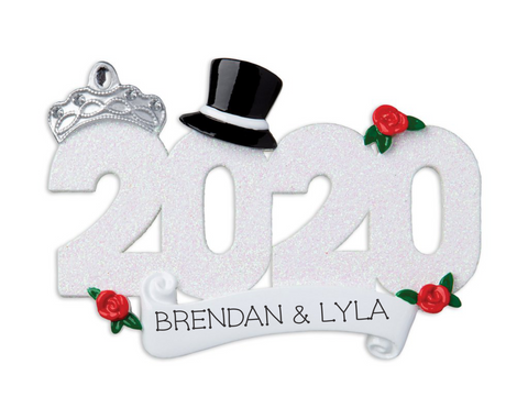 2020 Married Ornament