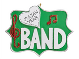 Band- Personalized Christmas Ornament