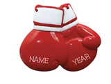 Boxing Gloves - Personalized Christmas Ornament