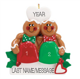 GUM DROP GINGERBREAD COUPLE