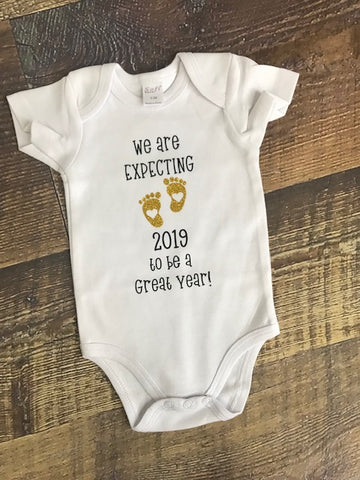 We are expecting romper