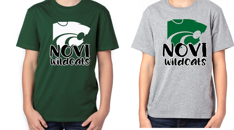 Novi Wildcats Poly/Cotton T-shirt