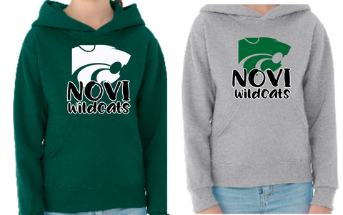 Novi Wildcats - Hooded pullover sweatshirt