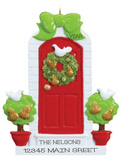 Partridge Door- Personalized Ornament