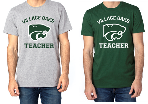 Village Oaks Teacher, Unisex Crew Neck