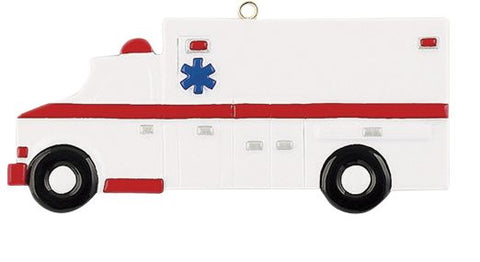 AMBULANCE- Personalized Ornament