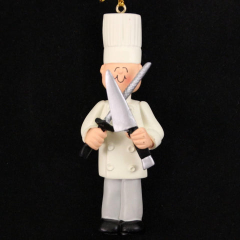 Chef, Male- Personalized Ornament