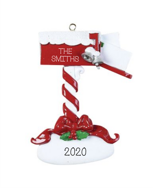 Christmas Mail- Personalized Ornament