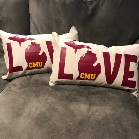 LOVE Pillow- CMU